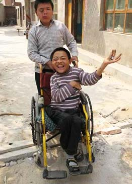 the orphanage for disabled children in China