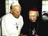 First meeting between Cardinal Kung and Pope John Paul II in 1989